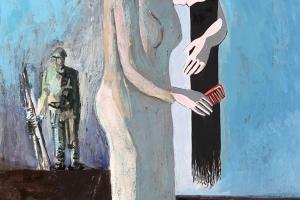 Davoud Sarfaraz, Iranischer Künstler